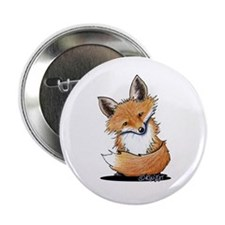 "KiniArt Fox 2.25"" Button"