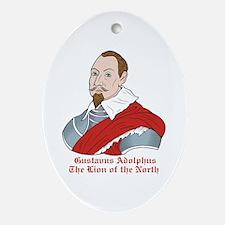 Gustavus Adolphus Oval Ornament