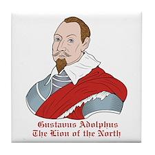 Gustavus Adolphus Tile Coaster