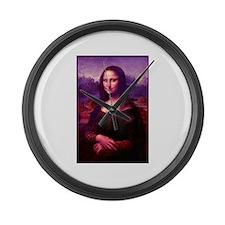 Mona Lisa Large Wall Clock
