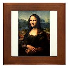 Mona Lisa Framed Tile