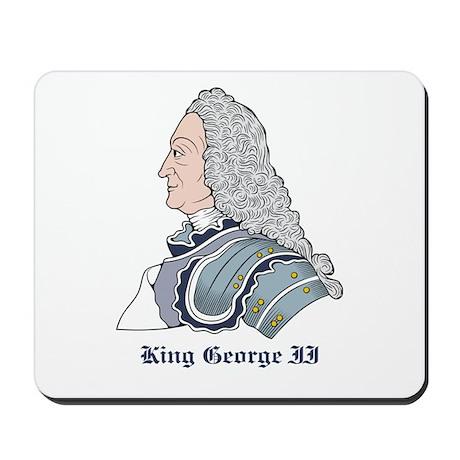 King George II Mousepad