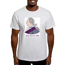 King George III Ash Grey T-Shirt
