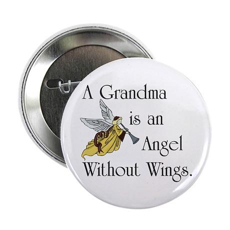 Grandma Angel Button