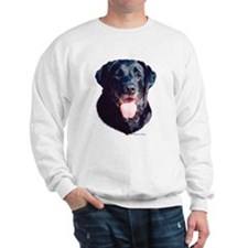 """Black Lab Headstudy"" Sweatshirt"