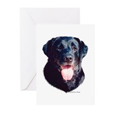 """Black Lab Headstudy""NoteCards(Pk of 10)"