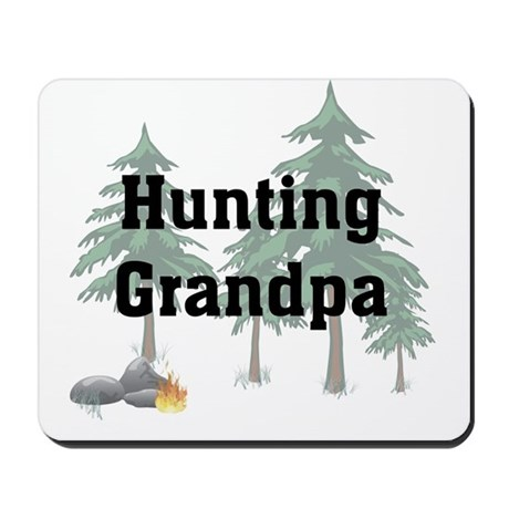 Hunting Grandpa Mousepad