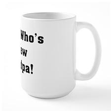 Guess Who's A New Grandpa Mug