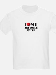 Air Force Uncle Kids T-Shirt