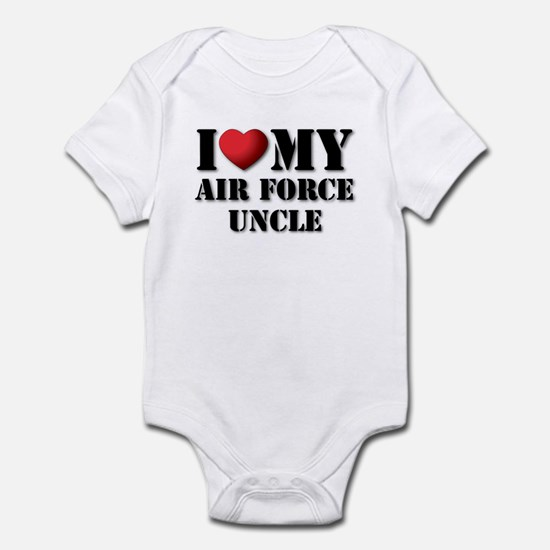 Air Force Uncle Infant Creeper