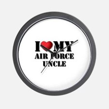 Air Force Uncle Wall Clock