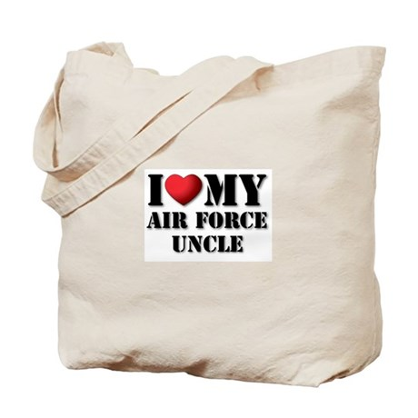 Air Force Uncle Tote Bag