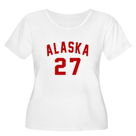 Alaska 27 Bir Women's Plus Size Scoop Neck T-Shirt