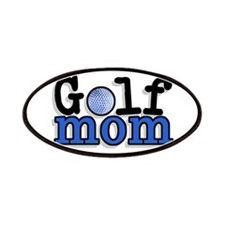 Golf Mom Patches