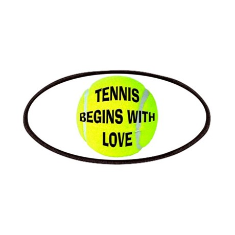 Tennis Begins With Love Patches