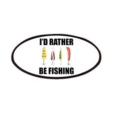 I'd Rather Be Fishing Patches