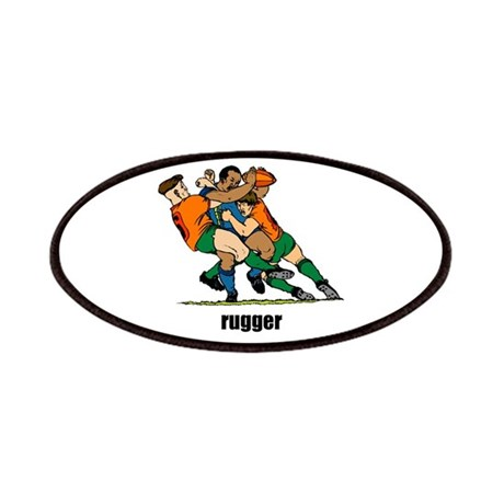 Rugger Rugby Patches