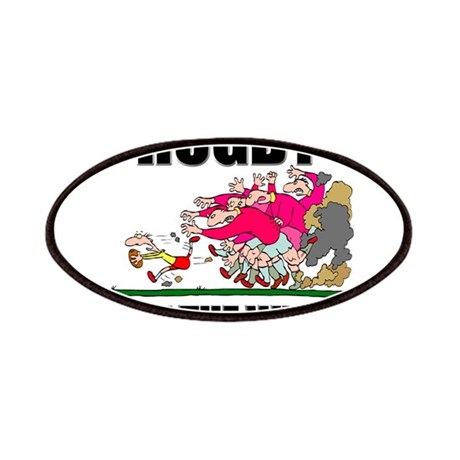 Eat The Weak Rugby Patches