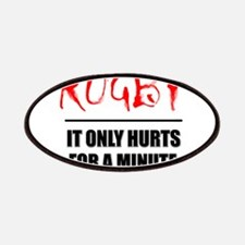 It Only Hurts 1 Rugby Patches