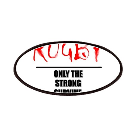 Only Strong Survive Rugby Patches