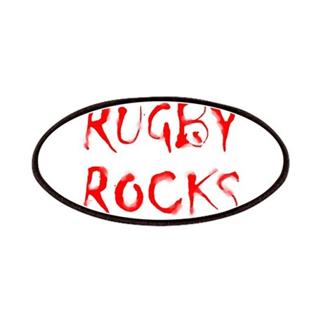 Rugby Rocks Patches