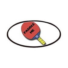 Paddle Me Ping Pong Patches