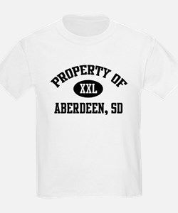 Property of Aberdeen Kids T-Shirt