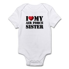 Air Force Sister Infant Creeper