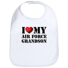 Air Force Grandson Bib