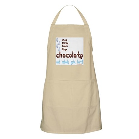 Step Away from the Chocolate BBQ Apron