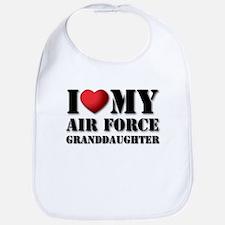 Air Force Granddaughter Bib