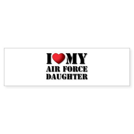 Air Force Daughter Bumper Sticker