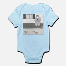 Underpants for Squirrels (no text) Infant Bodysuit