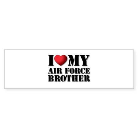 Air Force Brother Bumper Sticker