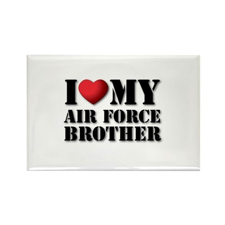 Air Force Brother Rectangle Magnet (100 pack)