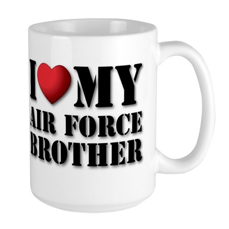 Air Force Brother Large Mug