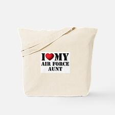 Air Force Aunt Tote Bag