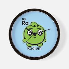Cute Element Radium Ra Wall Clock