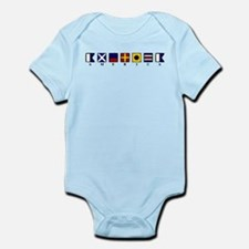 Nautical America Infant Bodysuit