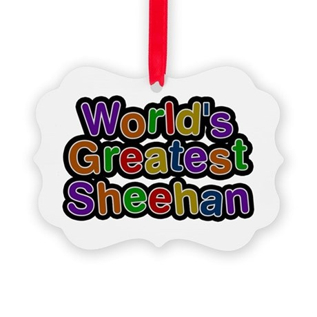 World's Greatest Sheehan Picture Ornament
