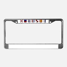 Nautical Ventura License Plate Frame