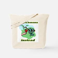 Unique Hand banana Tote Bag