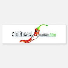 Chilihead Nation Bumper Bumper Bumper Sticker
