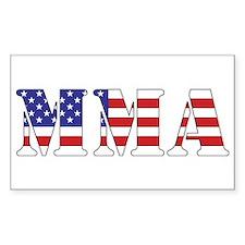 USA MMA Decal