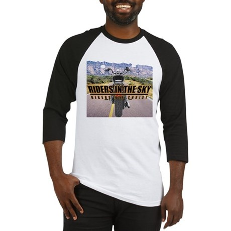 Riders in the Sky - Color Bac Baseball Jersey