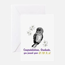 OWL Graduate Greeting Card
