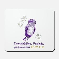 OWL Graduate Mousepad