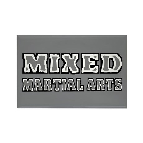 Mixed Martial Arts Rectangle Magnet