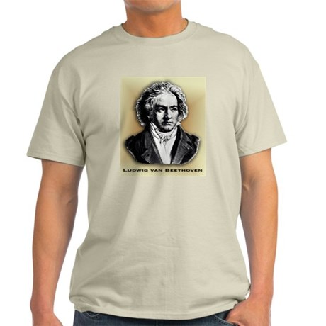 Classical Composers Ash Grey T-Shirt