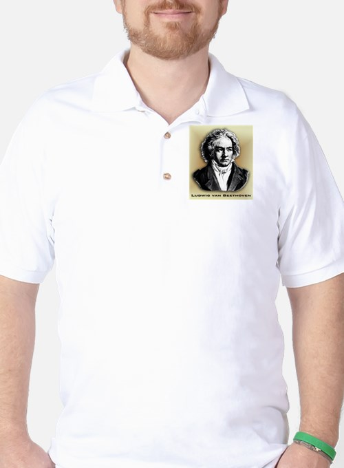 Classical Composers Golf Shirt